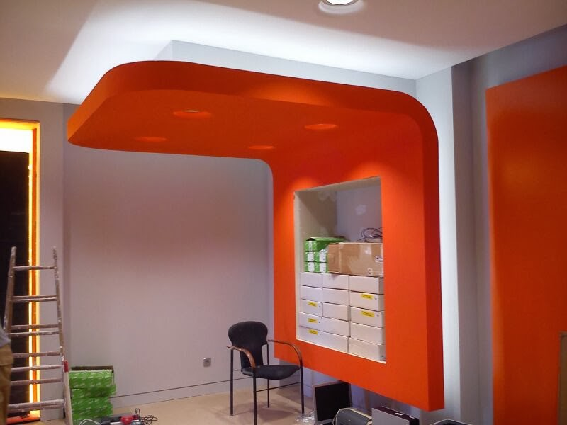 Un sue o una idea un hecho decoracion en placas de yeso - Placas de yeso laminado ...