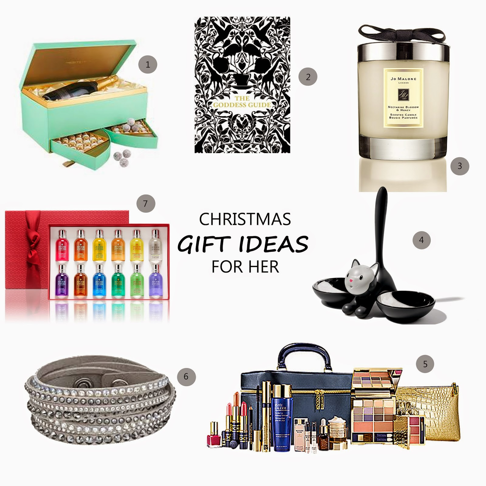 7 christmas gift ideas for her loved by laura for Christmas gift ideas for her