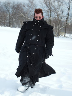 Black Stampede Duster inspired by Trigun - May 2011 Customer Photo 2