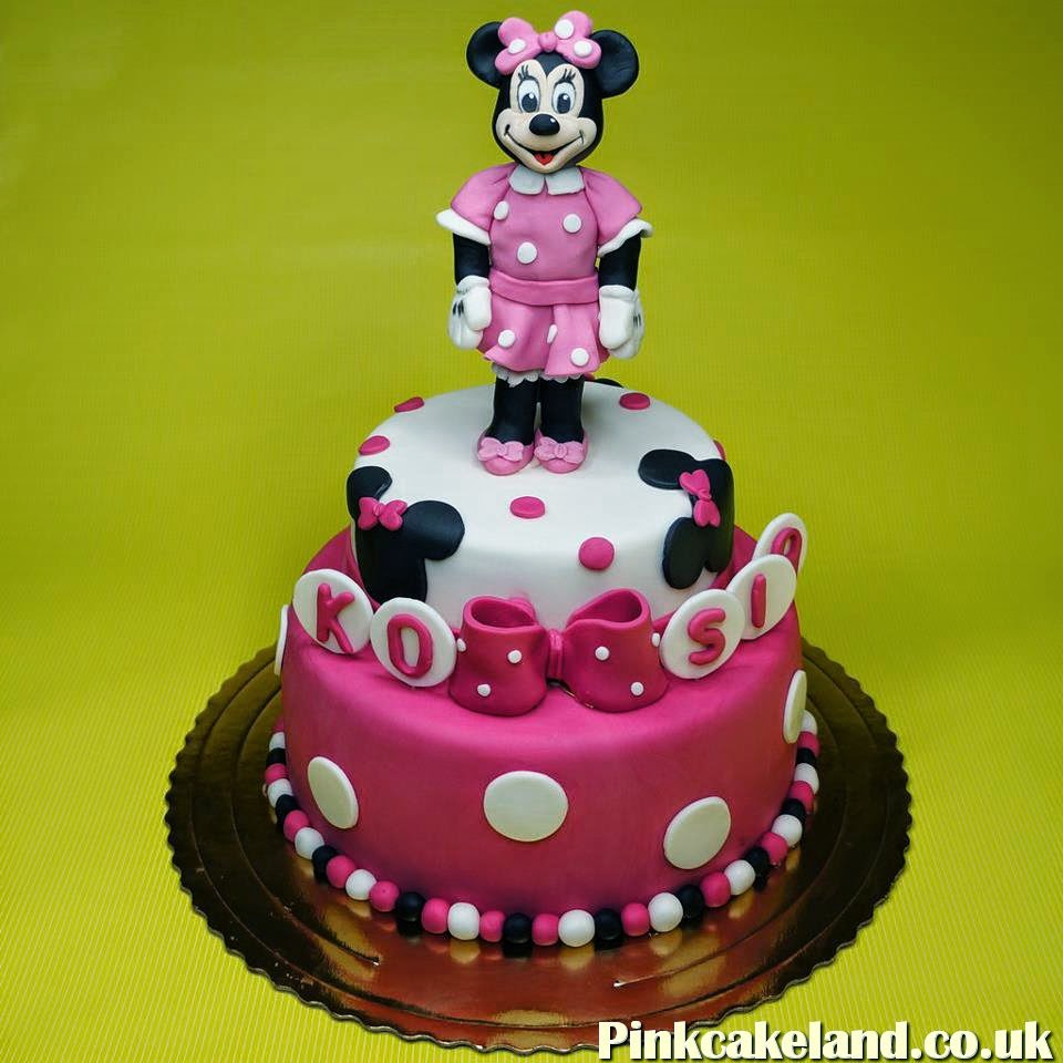Minnie Mouse Cake, Brixton