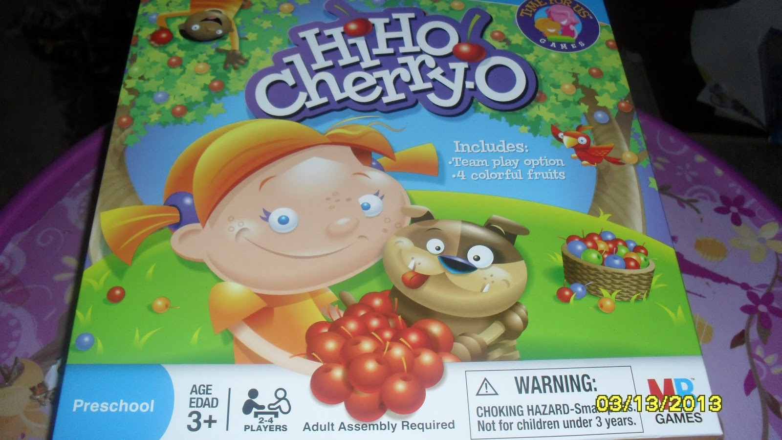 hi ho cherry o instructions