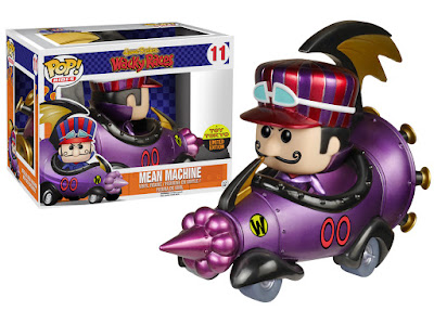 "San Diego Comic-Con 2015 Exclusive Hanna-Barbera Wacky Races ""Metallic"" Mean Machine Pop! Rides with ""Metallic"" Dick Dastardly Pop! Vinyl Figure by Funko"