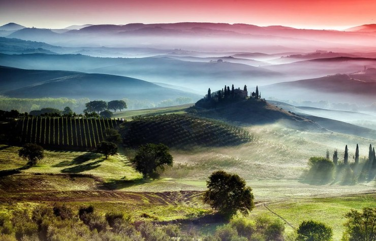 24. Valleys in Tuscany - 29 Amazing Places in Italy