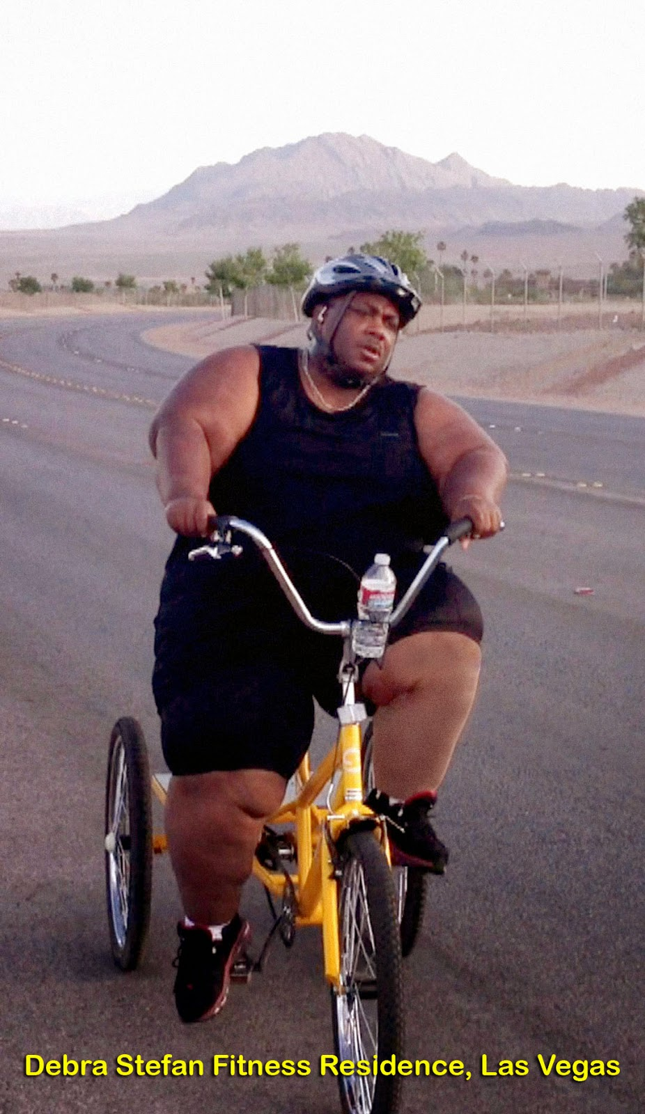 Bikes For Overweight People Extreme Morbidly Obese Cyclist