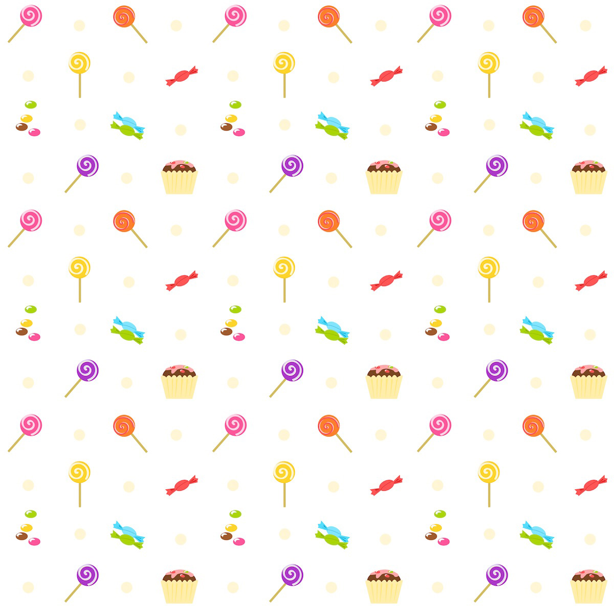 free digital birthday scrapbooking paper   sweets