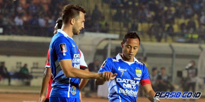 Persib Bandung Sukses Taklukkan Pesiba Balik Papan 4 Gol Tanpa Balas