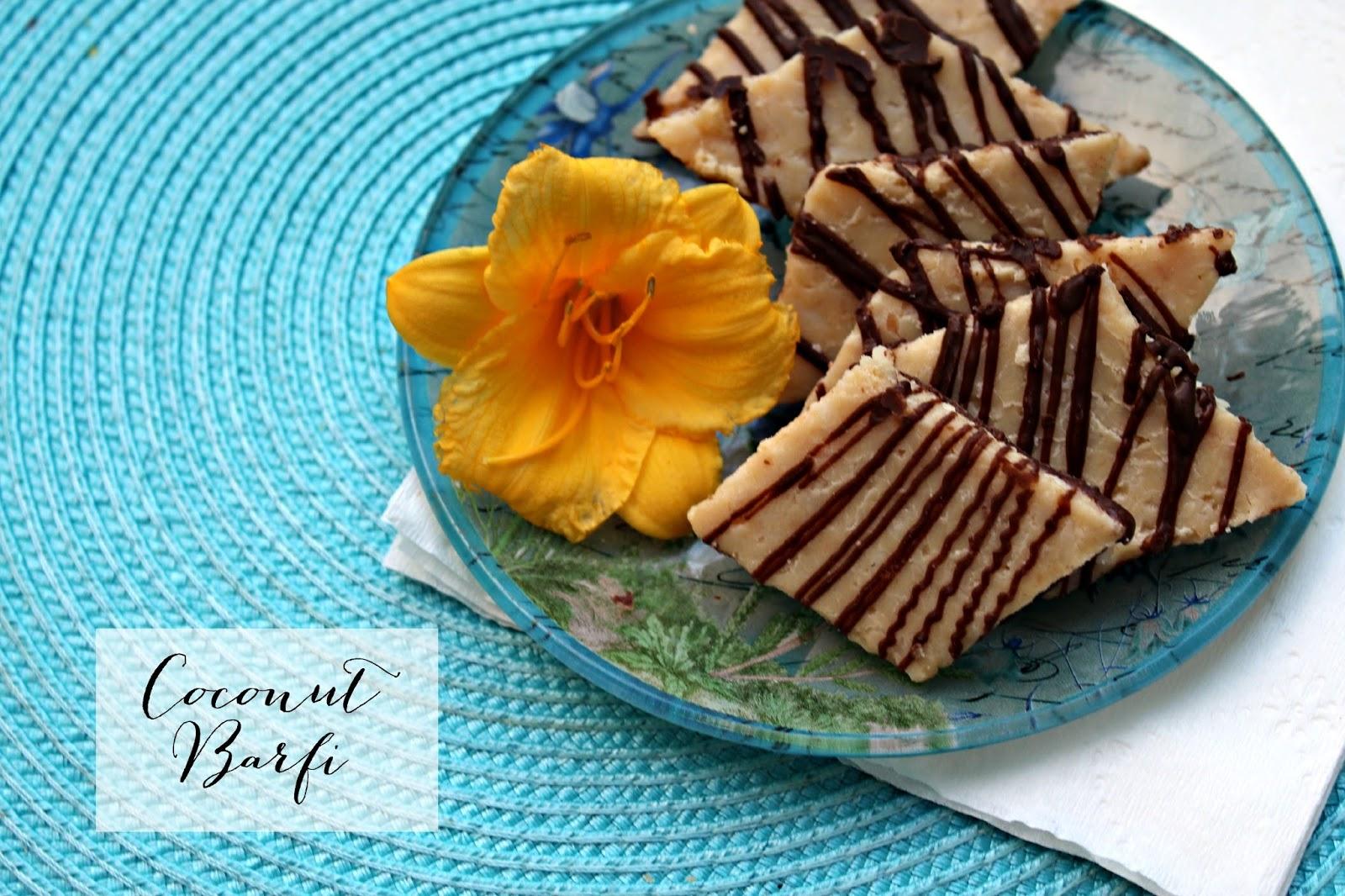 Coconut Barfi (Indian Sweet) | Best of Wardah