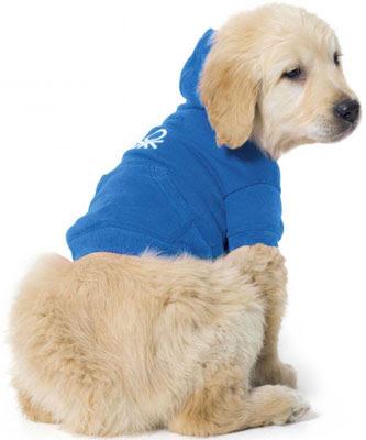 sudaderas con capucha para perros Benetton