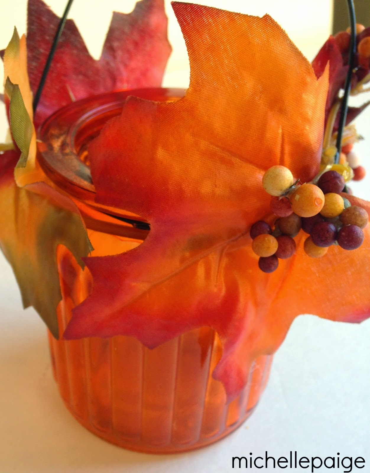 michelle paige blogs Dollar Store Thanksgiving Decorations