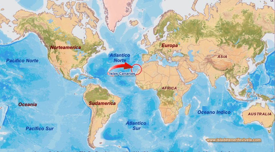 Islas Canarias encrucijada entre Europa frica y Amrica Isla