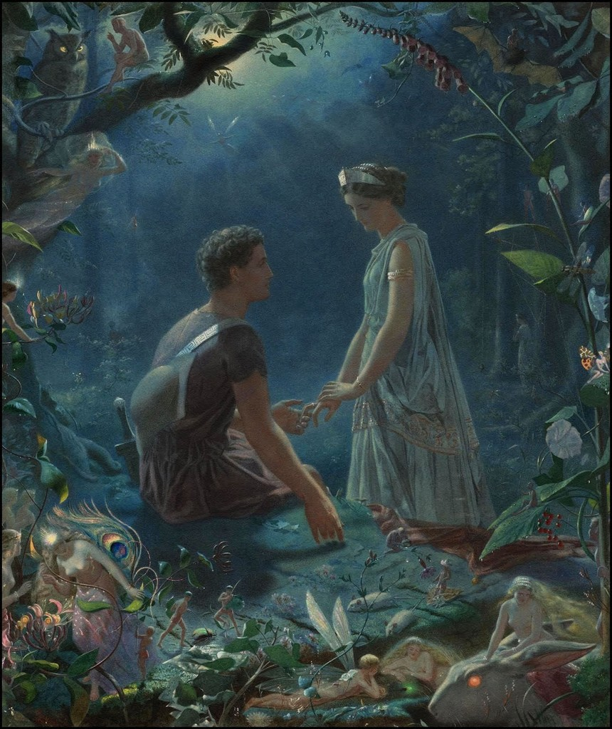 the foolish love of the characters in a midsummer nights dream by william shakespeare A midsummer night's dream william shakespeare about a midsummer night's dream character their complexity in shakespeare's midsummer dream love is the.