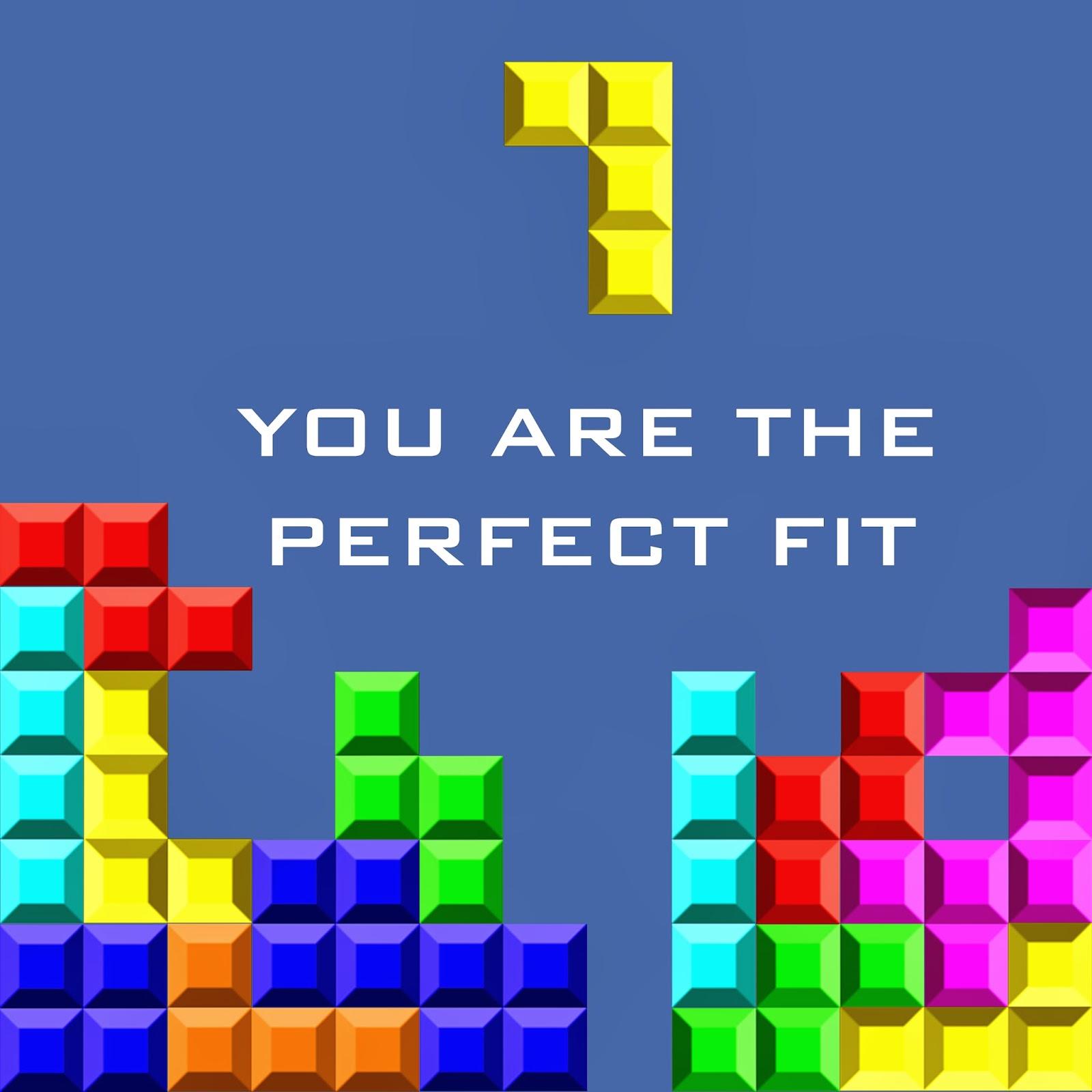 valentines day geek tetris