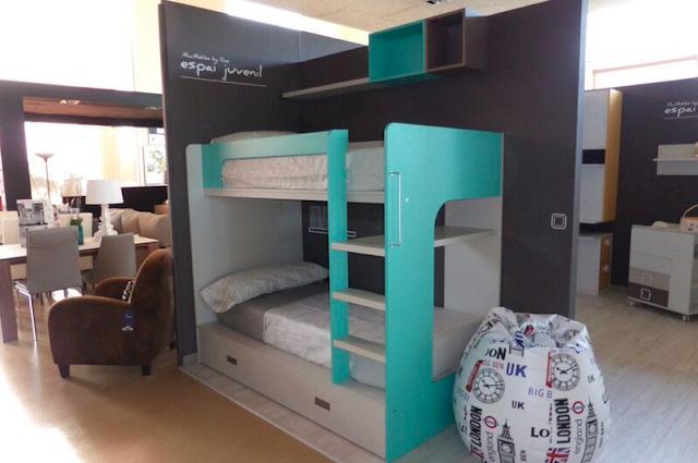 Espacios macmobles by ros la mejor muestra de dormitorio for Muebles infantiles ros