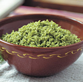 Clever Cook: Arroz Verde (Peruvian Cilantro Rice)