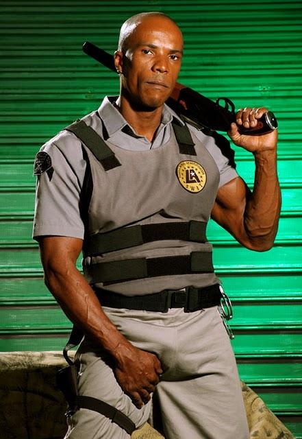 Gay Negro Fardado Policial