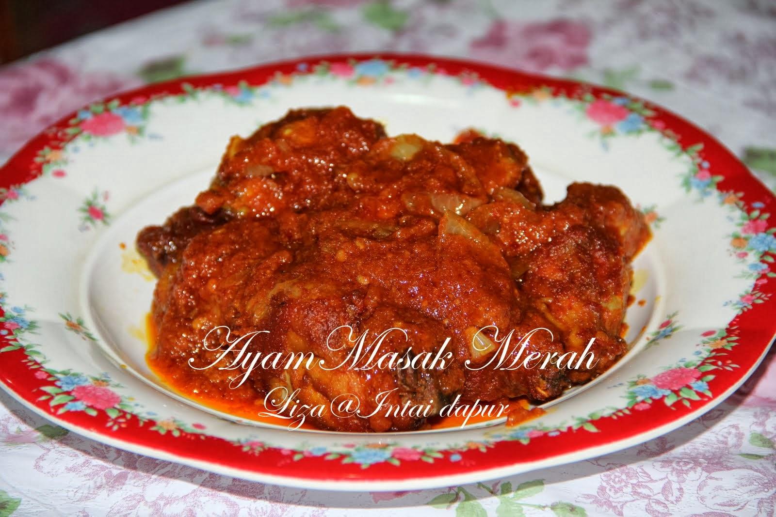 Intai Dapur Sup Sayur Campur N Ayam Masak Merah