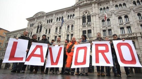 IL LAVORO E' LA PRIORITA' PER TRIESTE