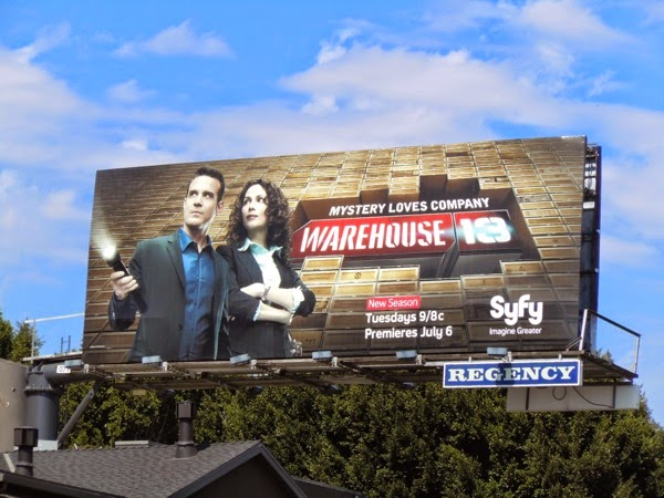 Warehouse 13 Syfy billboard