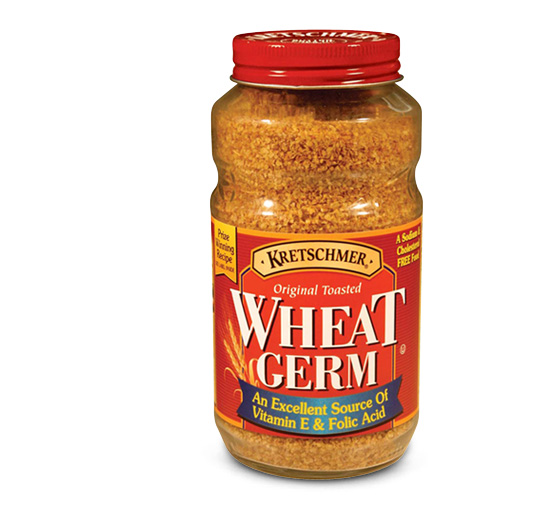 Wheat germ generally comes packed in jars like this