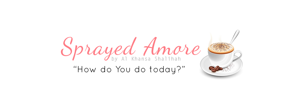 Sprayed Amore by Al Khansa Shalihah