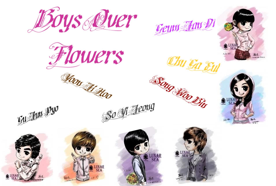 Boys over flowers Animé