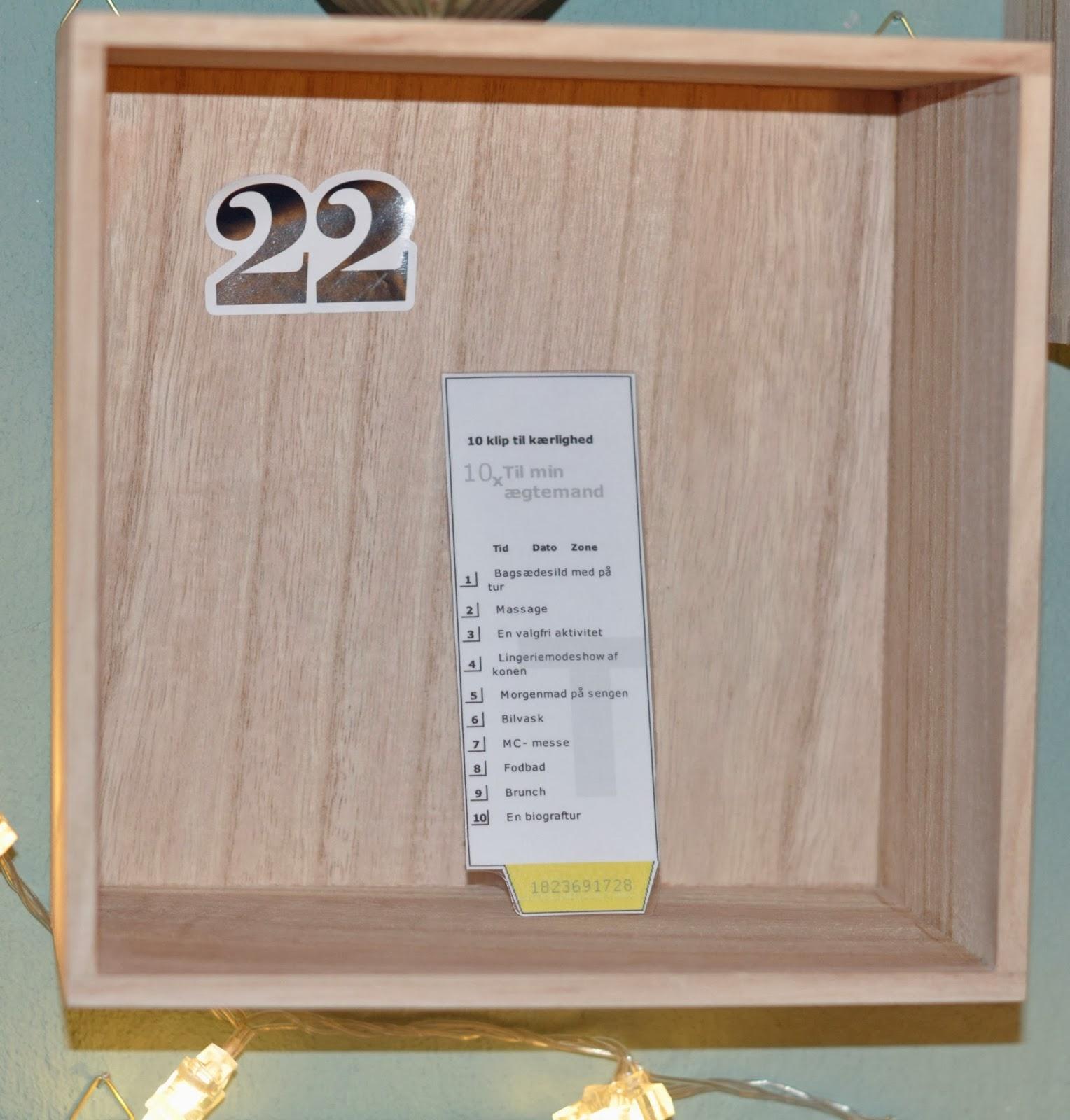 #74431D Dette års Kreativ Tankeknips: 22. December. Idé Til En Gør Det Selv Kvalitetsjulegave Gør Det Selv Tips Til Værelset 6201 152816006201