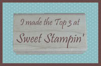 Sweet Stampin top 3