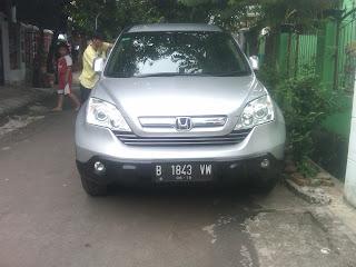 Pengiriman Honda CRV B 1843 VW Jakarta ke Balikpapan