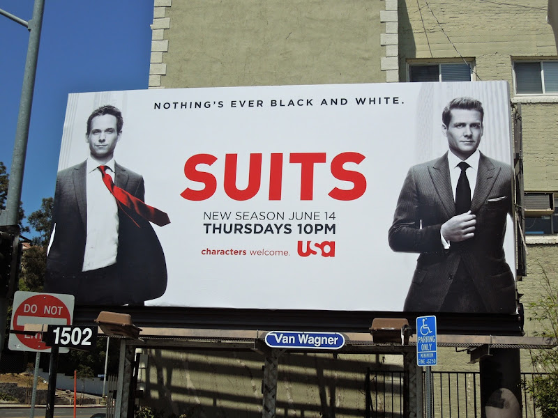Suits series 2 billboard