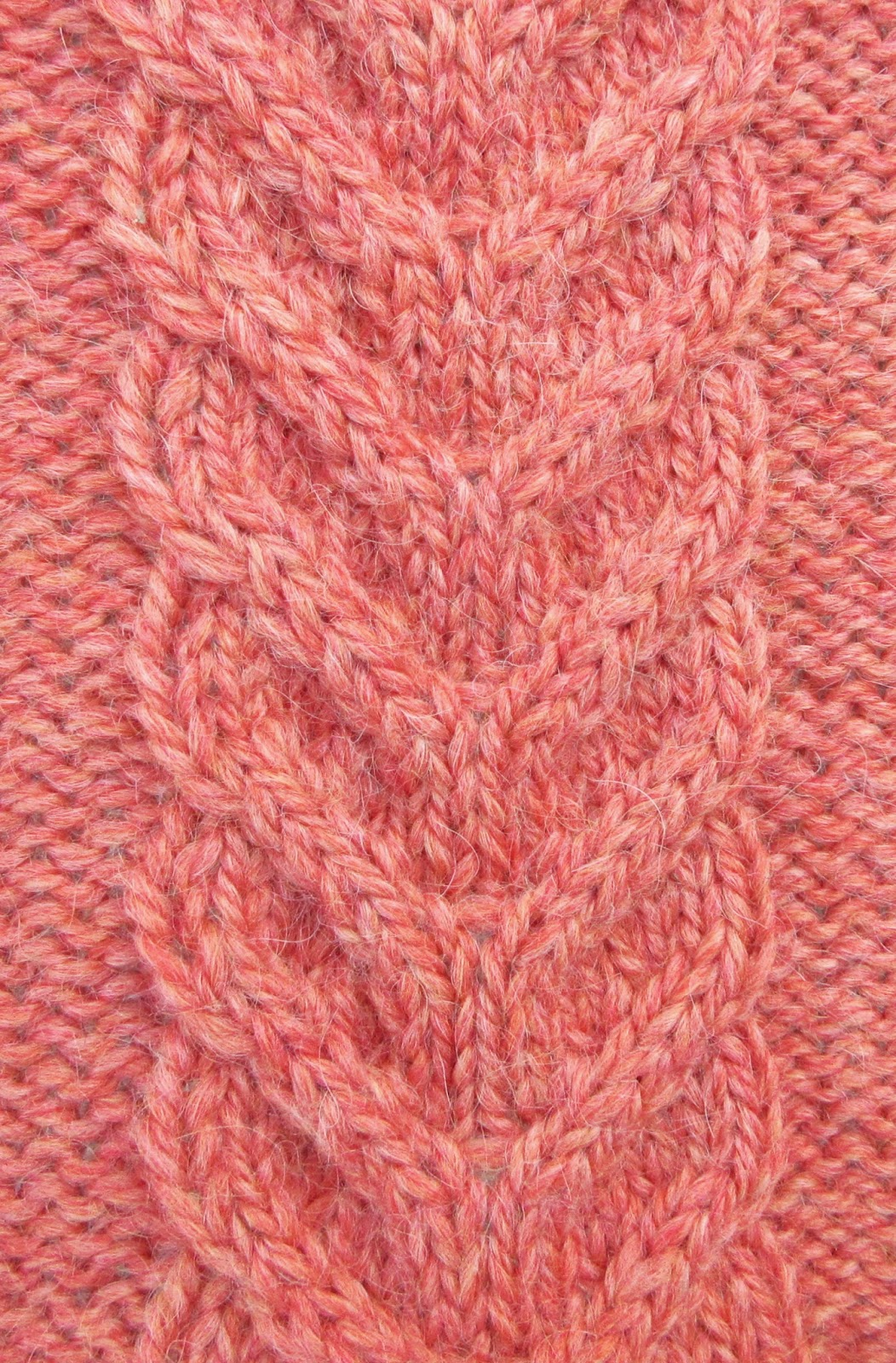 Textured Knits: STAGHORN CABLE