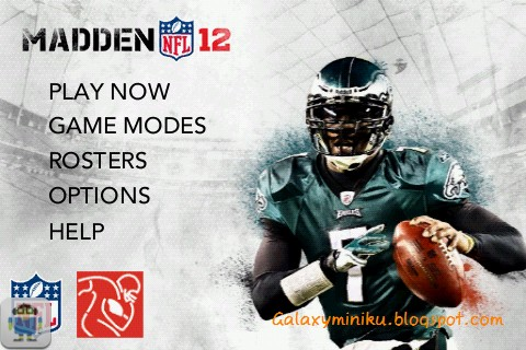 Game Olahraga HD Android, Madden NFL 2012, Buat Galaxy Mini