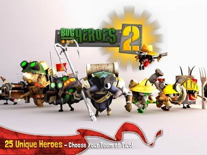 Download Bug Heroes 2 MOD APK+DATA (Unlimited Diamonds)