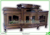 Bufet Meja Tv Klender Jati Karimun1