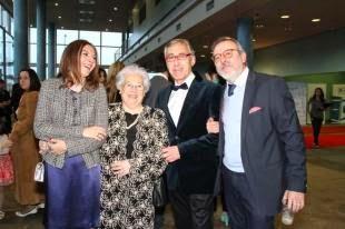 Los Mestre Mateo honran a la actriz Fely Manzano