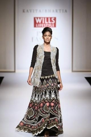 Kavita Bhartia WIFW S/S 2015 www.footnotesandfinds.com