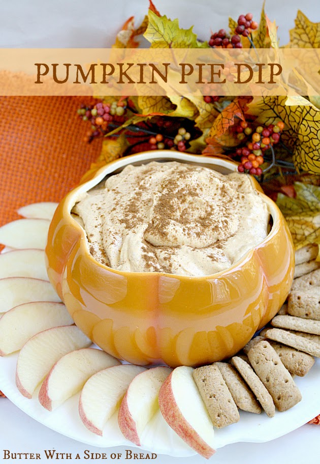 Butter With a Side of Bread: Pumpkin Pie Dip