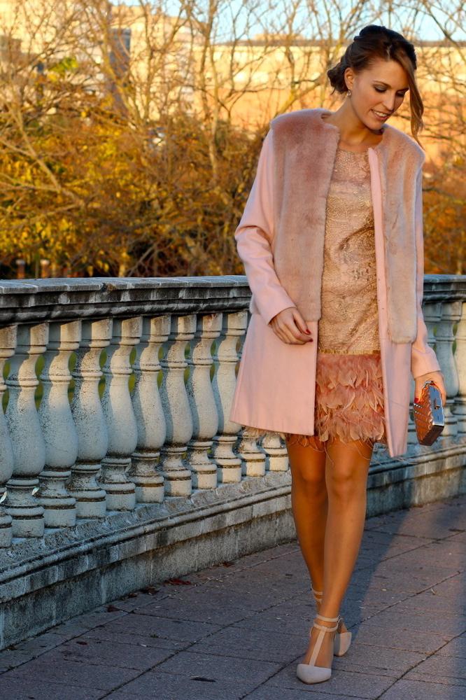 vestido con lumas