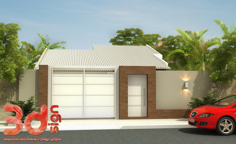 3dsign fachada casa - Fachada de casa ...