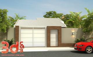 3dsign fachada casa for Modelos de casas fachadas fotos