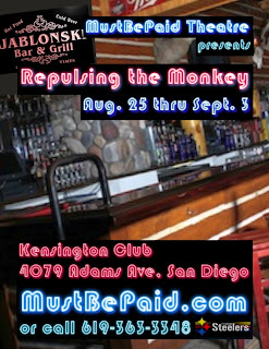 Repulsing the Monkey at the Kensington Club Aug. 25 - Sept. 3