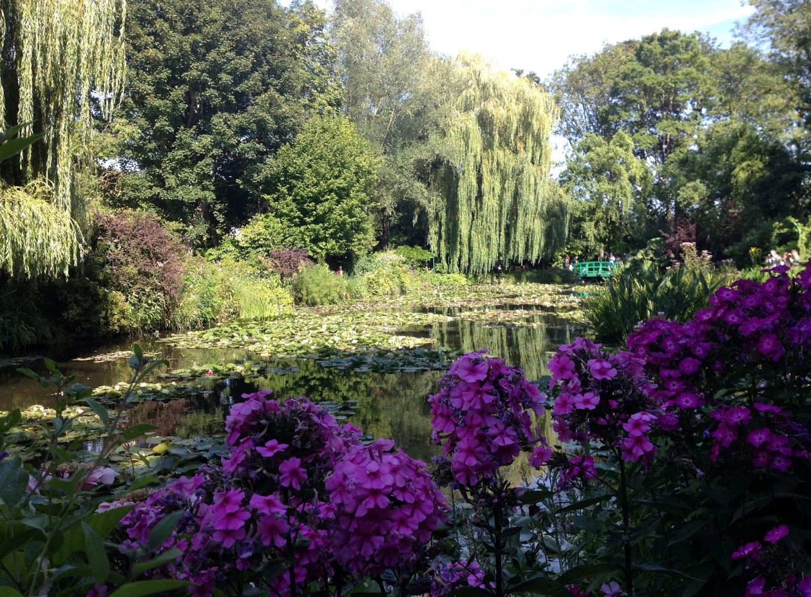 Globeshoppeuse normandie impressionnistes les jardins - Les jardins de claude monet ...