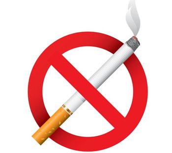 A foto da mulher fumante e quem deixou de fumar