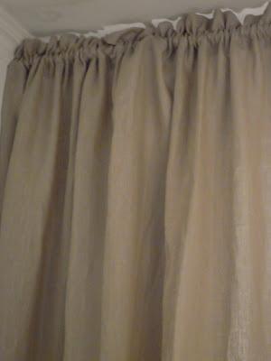 gordijnen wit verven d 233 coration de la maison vitrage zwart verven