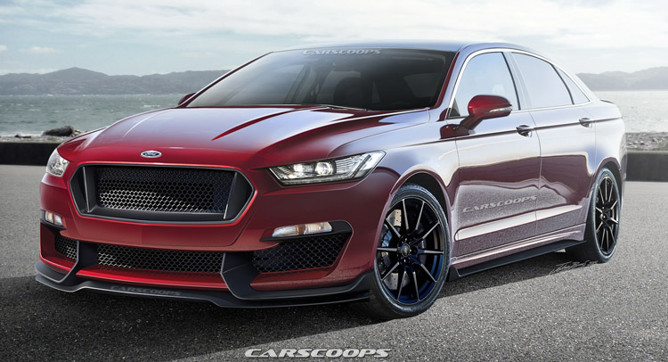 future cars putting the sho into ford s all new 2016 taurus. Black Bedroom Furniture Sets. Home Design Ideas