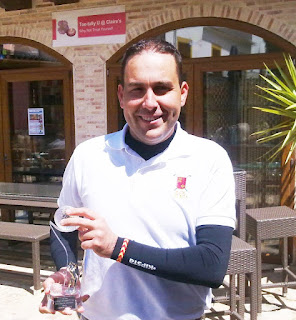 Francisco javier Pérez lider Ranking Murcia Pitch & Putt