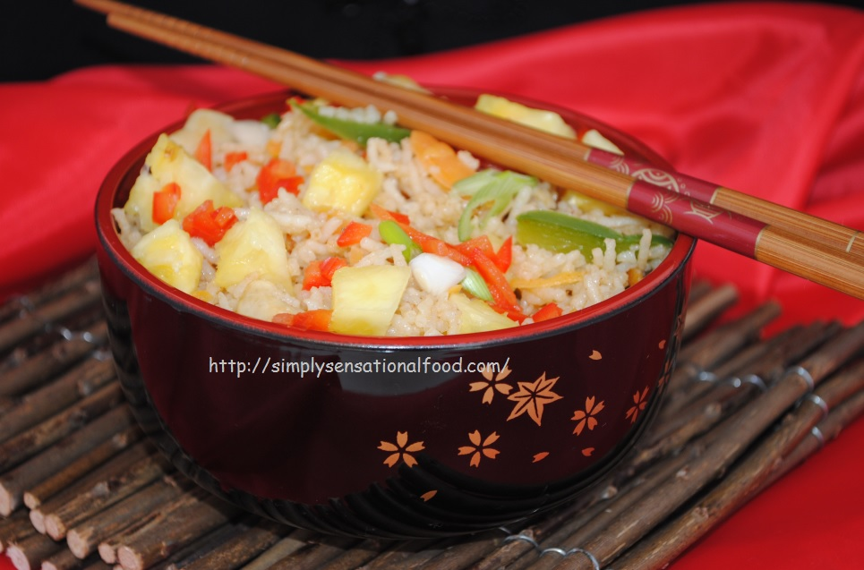 Ginger Pineapple Fried Rice Recipes — Dishmaps