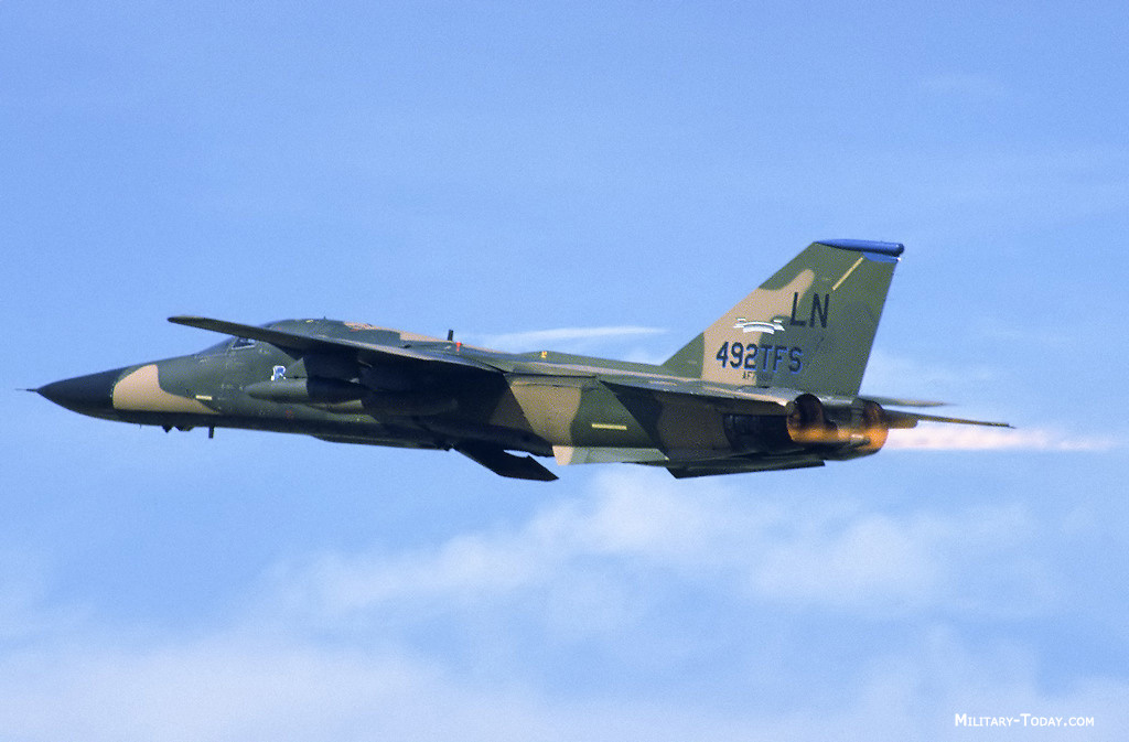 the f 111 aardvark is a multipurpose tactical fighter bomber capable ...