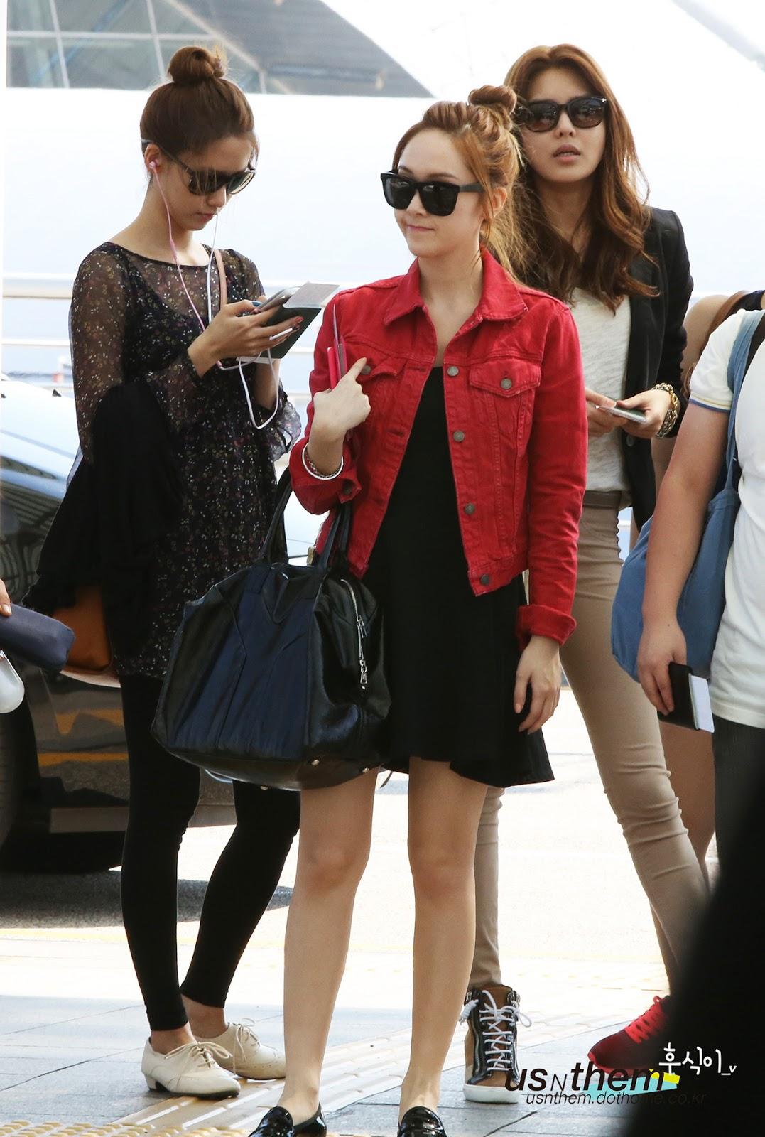 My K Pop Database 120923 Snsd Airport Fashion
