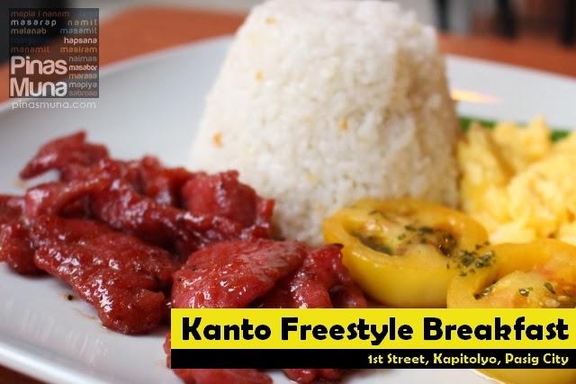 Kanto Freestyle Breakfast in Kapitolyo
