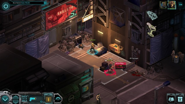 Shadowrun Returns PC Games Gameplay